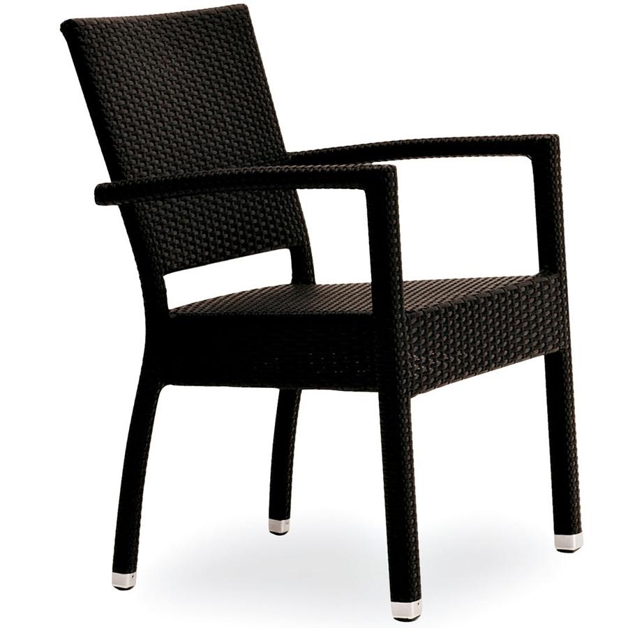 Sedia con braccioli impilabile per esterni di ottima for Sedie da esterno