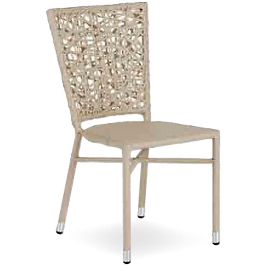 Sedia in filo intrecciato per esterni di ottima qualit a for Sedie per esterno